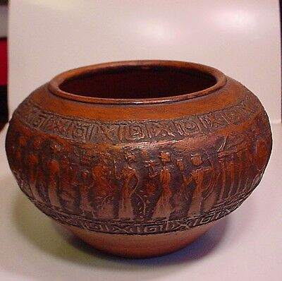 Very Attractive Vintage Greek Pottery Bowl-Excellent Condition