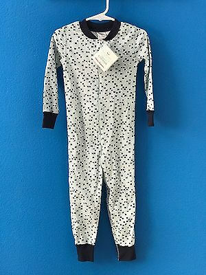 HANNA ANDERSSON Boys Blue Organic Cotton Snug Fit Sleepers Size 90 3 NWT
