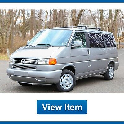 1999 Volkswagen EuroVan VR6 1999 Volkswagen Eurovan VR6 California MV Sports VAN Rare Loaded Serviced CARFAX