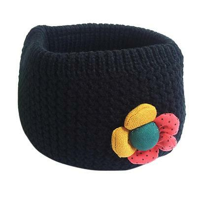 Kids Scarf soft comfortable O-ring Knit Woolen Baby Scarf Neck Warmer Back US