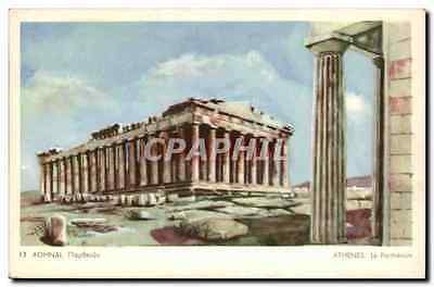 CPA Grece Greece Athenes Le Parthenon