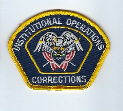 State of UT Utah Dept. of Corrections DOC Institutional Operations patch - NEW!