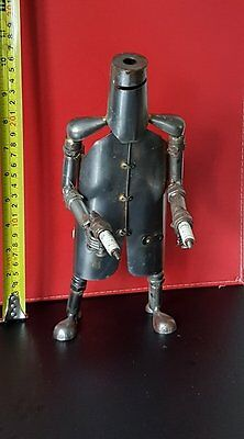 Ned Kelly  Hand Crafted  (Metal) Approx. 28cm tall  more available