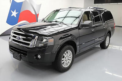 2014 Ford Expedition Limited Sport Utility 4-Door 2014 FORD EXPEDITION EL LTD LEATHER SUNROOF NAV 66K MI #F35032 Texas Direct Auto