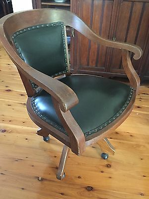Antique Vintage Office Chair