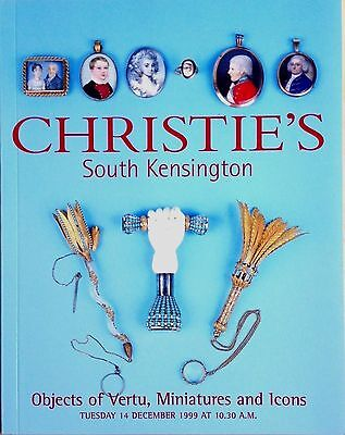 Christie's Catalog Objects of Vertu, Miniatures and Icons 12/13/99 London Sale