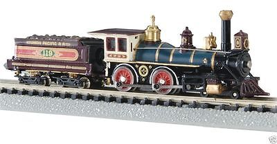BACHMANN 51151 N Union Pacific #119 4-4-0 American Locomotive & Tender, NEW