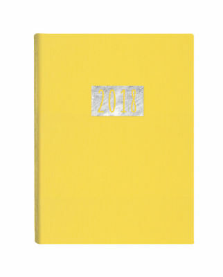 Diary 2018 Debden Jazz Yellow A6 Week to View J36 15.5x11cm