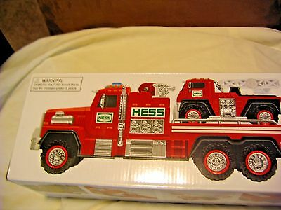 New 2015 51st Hess Collectible Toy Fire Truck and Ladder Rescue nib