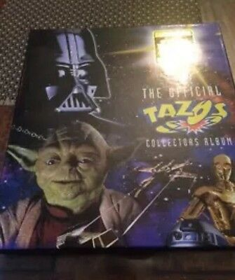 Tazo - star wars set missing 6 only 74/80