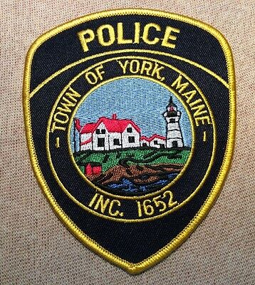 ME Town of York Maine Police Patch