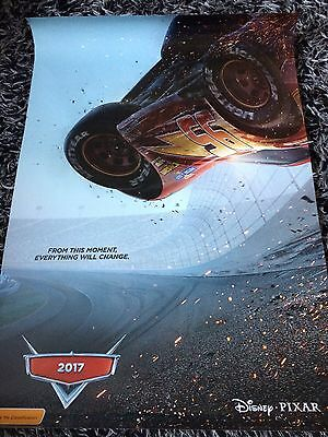CARS 3 One Sheet Movie Poster