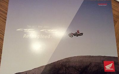 Honda The All New 2017 Reimagined Brand New 14 Pages Booklet CRF 450R, CRF 450RX