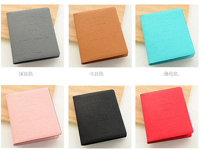 PU Leather Polaroid 64 Pockets Mini Photo Album FujiFilm Instax 7 8 90 Fuji Film