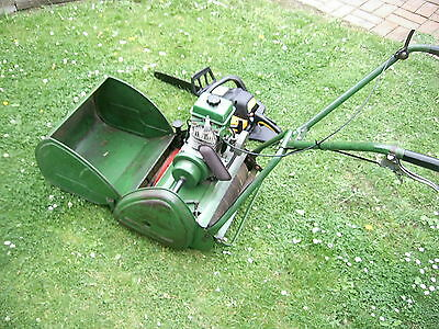 Ransomes 14  Cylinder Mower Power Driven 4 Stroke