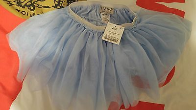 Next Blue Tutu New With Tags  6-9m 12-18 but big