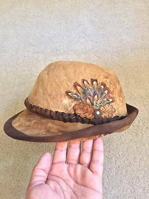 Handcrafted Transylvanian amadou hat