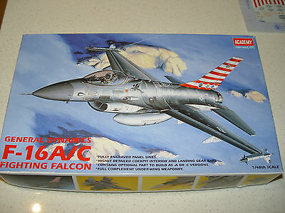 1/48 Academy F16A/Cmodel kit +Microscale 48-318 86th TFW decal set + resin parts
