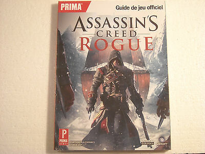 Guide De Strategie Officiel Prima Games Assassin's Creed Rogue Xbox 360+Ps3 Neuf