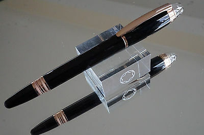 Montblanc STARWALKER Red Gold Black resin Fountain pen - M nib - NEW boxed