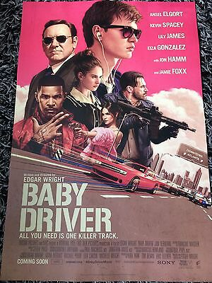 BABY DRIVER One Sheet Movie Poster