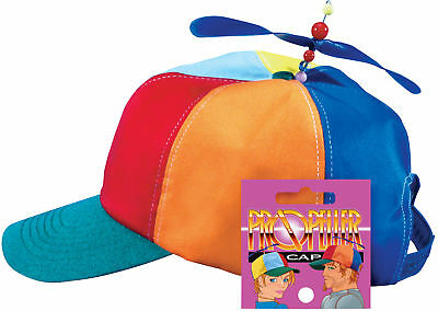 Star Power Baseball Cap with Propeller Funny Party Hat, One Size