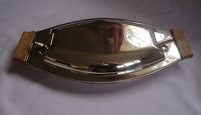 Stylish 1940s silver plate Serving/ ENTREE DISH