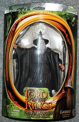 Gandalf Lord Of The Rings LOTR Fellowship of the Ring Toy Biz Figure  Boxed