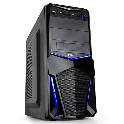 ORDENADOR PC INTEL CORE I5 (Up to 2,9Ghz) 8GB RAM, 160SSD, 2TB HD, HDMI, USB 3.0