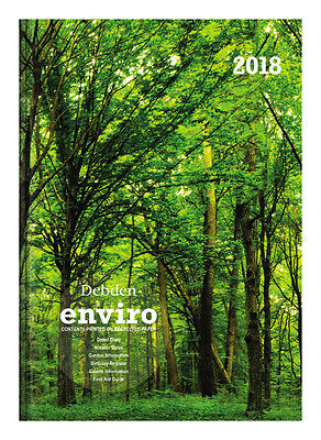 Diary 2018 Debden Enviro Trees A5 Week to View V5700 22x15.5cm