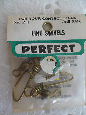 Perfect Brand,large 211 Line Swivels,new In Sealed Pack, Suit Control Line Plane