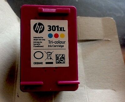 HP 301 XL Tri-colour Used Ink Cartridge (Empty)