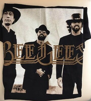 Bee Gees Barry Gibb Original One Night Only T Shirt Vintage 1997 Las Vegas Large