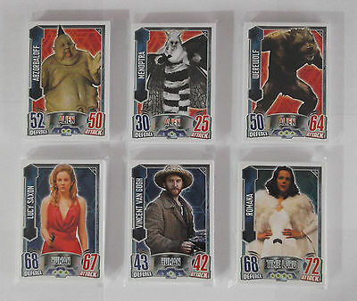 Topps Doctor Who Alien Attax Part Base Set 147 Cards