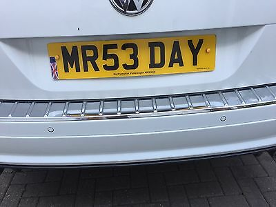 Personalised registration plate MR5 3 DAY