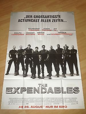 Filmposter * Kinoplakat * A0 * The Expendables * Stallone, Statham, Lundgren, Li