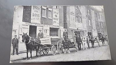Carte Postale Oeufs & Beurre Snook , Importers Of Eggs & Butter, Portsmouth ,g-B