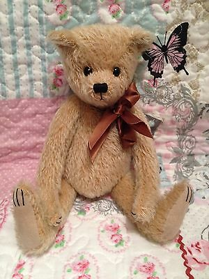 Charlie Bears Unknown Mohair Bear No Name Tags Could Maybe Be A One Off
