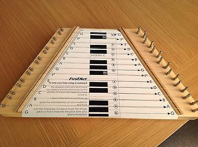 FIRST ACT Melody Lap Harp Musical Instrument With 10 Songs 15 String