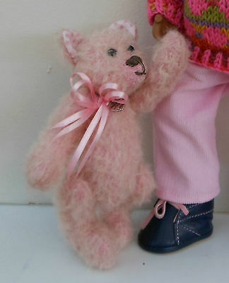 "Artists mini"" Teddy Bear 'Ruby' new trad style  suit Sasha dolls OOAK Handmade"
