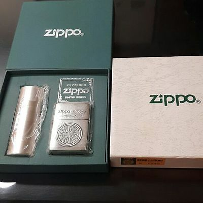Rare! Mint ZIPPO 1998 Limited Edition Lighter with Portable Ashtray No.0940