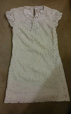 $3 forever new Lace white Dress Size 8