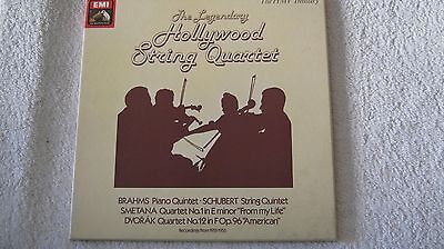Hollywood String Qrt - Recital - 3  Record Box Issue Near Mint