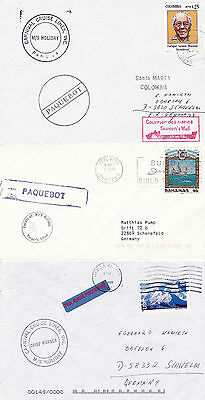 Panama Cruise Ship Ms Holiday 3 Ships Cached Covers