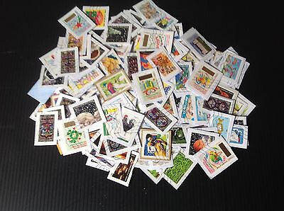 lot de  300  Timbres France  / oblitéré