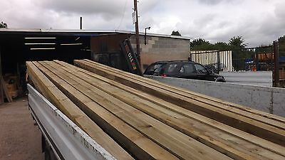 fence posts/timber tanalised 4x3 100x75