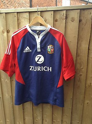 British Lions Rugby Shirt adidas Size Large