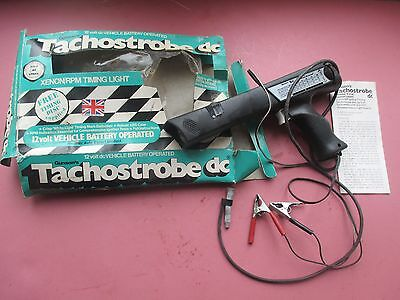 Gunson's Tachostrobe Xenon Timing Light in box & Instructions