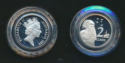 Australia 1988 Bicentenary $2 Sterling Silver Proof Coin in Capsule Only