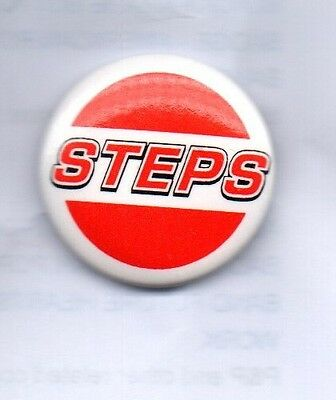STEPS Button Badge British Dance-Pop Group 5678, Tragedy One For Sorrow 90s 25mm